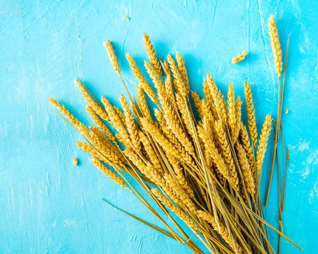 Bouquet of ripe wheat