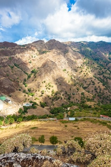 レッジョディカラブリアのbova superioreからの眺め