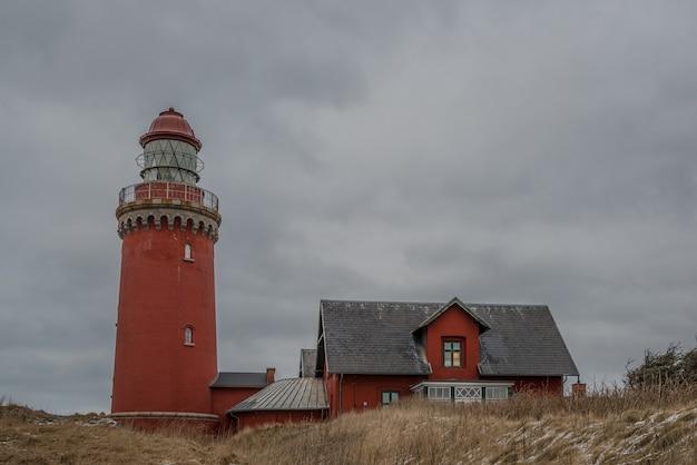 Bovbjerg lighthouse in lemvig, denmark