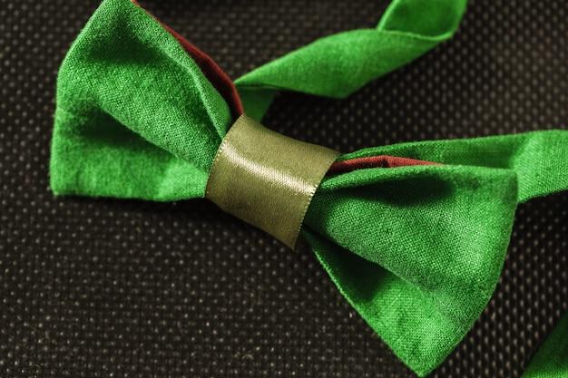 Bow tie on dark