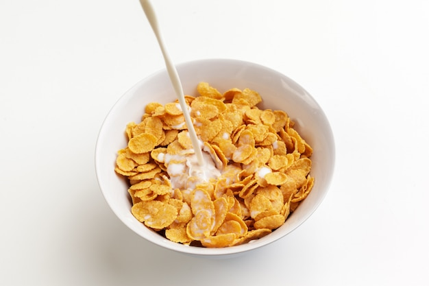 Bowl of healthy muesli