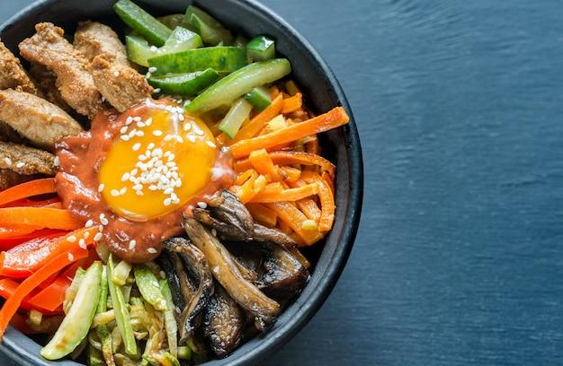 비빔밥 그릇