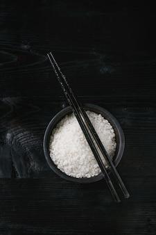 Чаша из белого риса