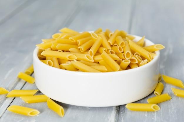 Bowl of pasta close-up