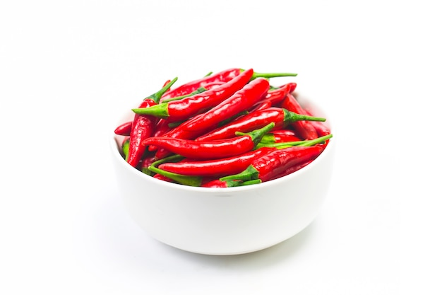 A bowl of pepper