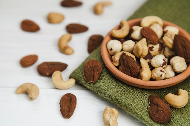 Bowl with nuts