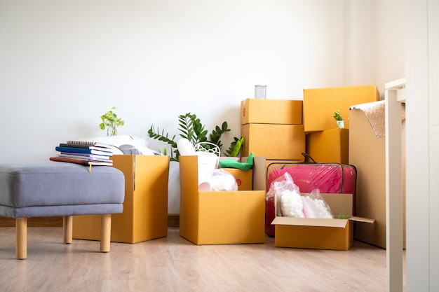 Box for personal belongings and furniture