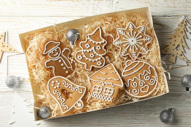 クリスマスクッキーの箱