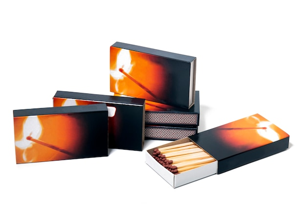 Boxes of matches