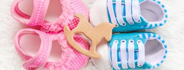 Boy or girl accessories newborn baby.