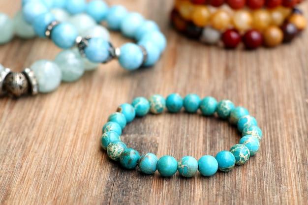 Bracelet bright colors - jade