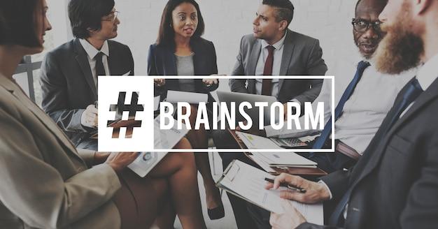 Брифинг для деловых встреч brainstorm