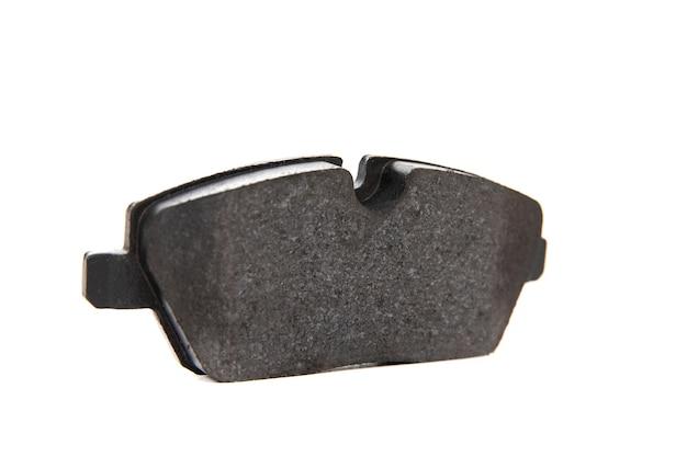 Brake pad on white background