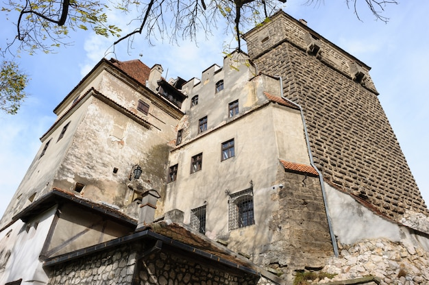 Bran castle, brasov, transylvania romania.