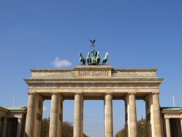 ブランデンブルク門、ベルリン