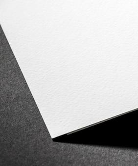 Materiale strutturato bianco del primo piano di branding