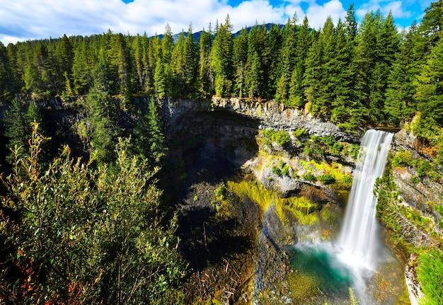 Brandywine falls provincial park, british columbia, canada