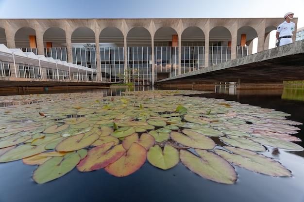 Бразилия, бразилия - 3 марта 2007 г. - бразильский дворец итамарати - министерство иностранных дел - государственный департамент
