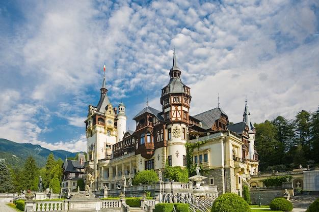 Brasov, romania, peles castle