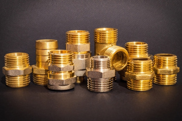 Brass fittings is often used to connect for water and gas installations
