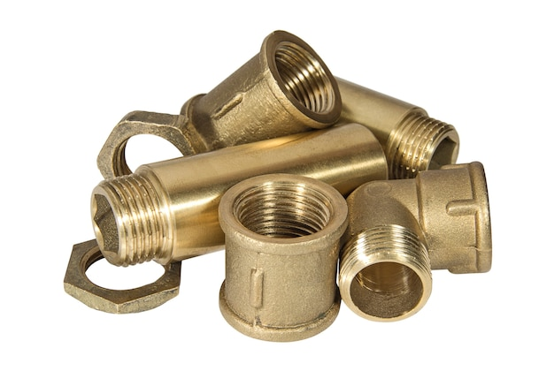 水道管用の真ちゅう製の衛生器具および付属品