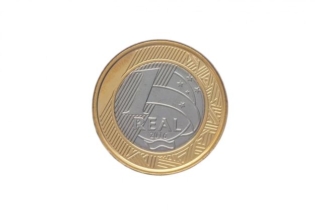 ブラジルの「1リアル」コイン2016