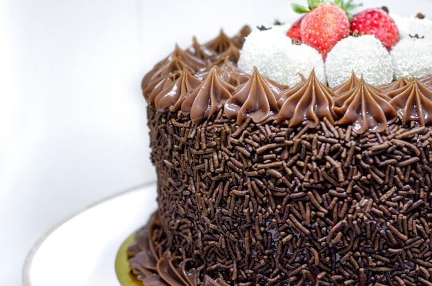 Brazilian gourmet cake with