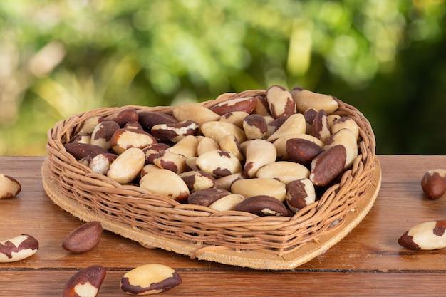 Бразильский орех, известный как