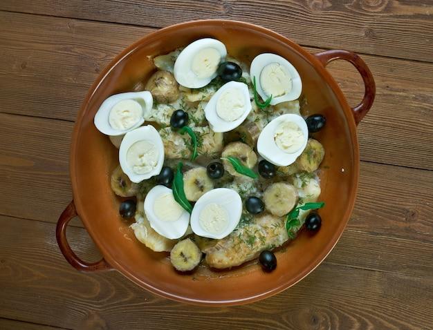 계란을 넣은 브라질식 소금구이. 가장 인기있는 요리