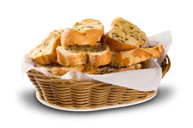 빵 바구니.