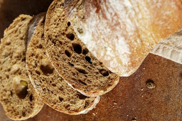 Bread on a cloth