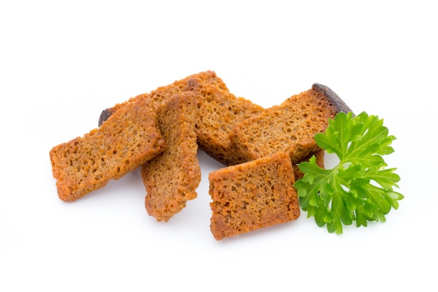 고립 된 빵 크루 통