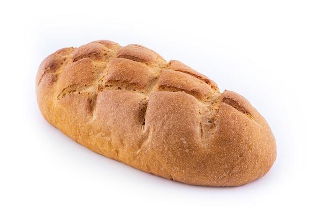 Хлеб из ячменного солода, изолированные на белом фоне