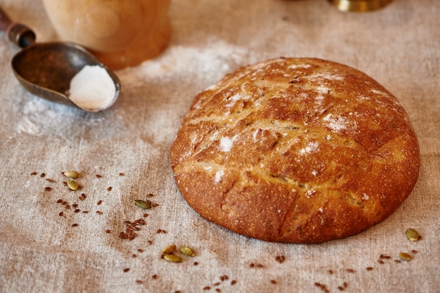 밀가루로 섬유에 빵