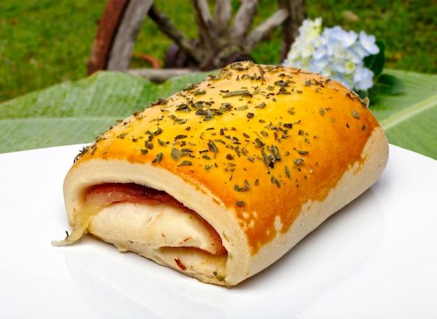 Слоеный хлеб