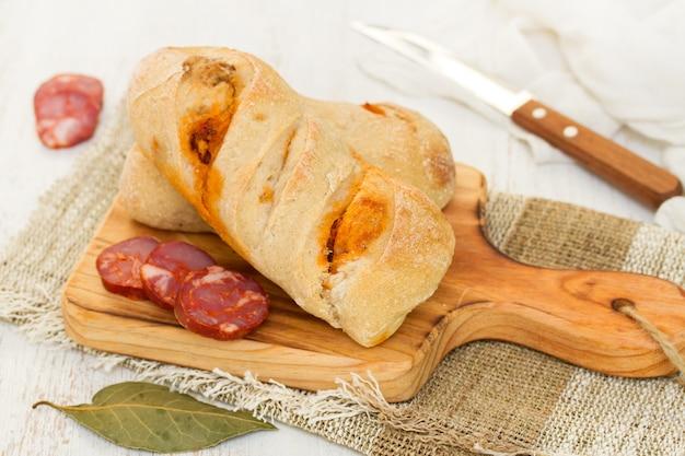 Хлеб с чурико
