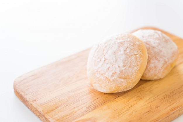 Pane con burro fresco