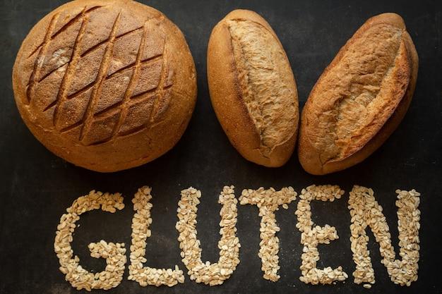 グルテン入りのパンはアレルギーのある人には適していません