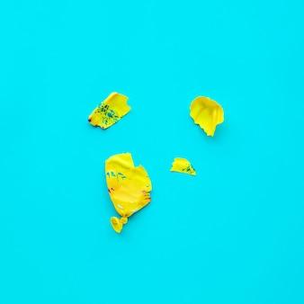 Разбить воздушный шар на идеи концепции празднования синей вечеринки
