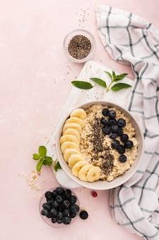 Завтрак из натуральных полезных десертов