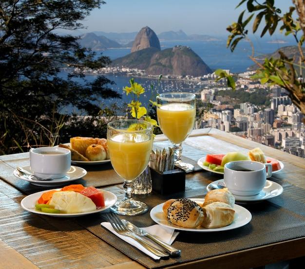 朝食リオデジャネイロ
