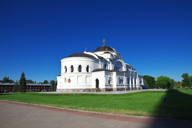 Brest fortress in belarus country