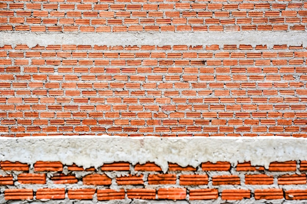 Brick building wall texture background