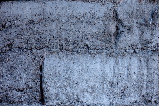 Brick concrete block wall material grey background