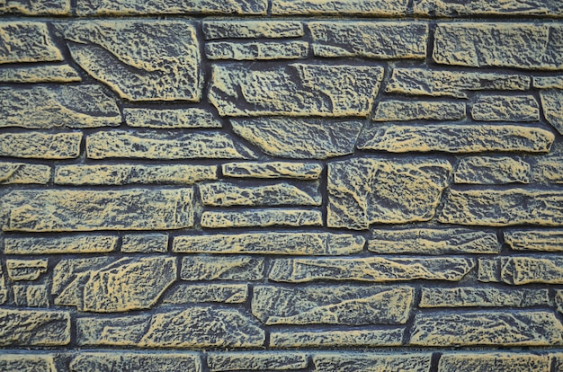 Brick fence texture background
