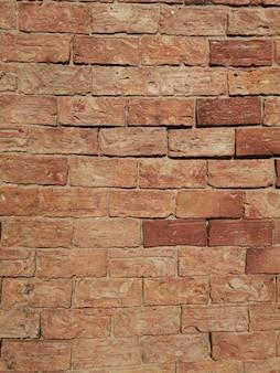 Brick texture surface.