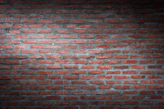 벽돌 벽 배경 질감, 어두운 복고풍 배경에 대한 산업 건물 건설의 추상적 인 배경 자료