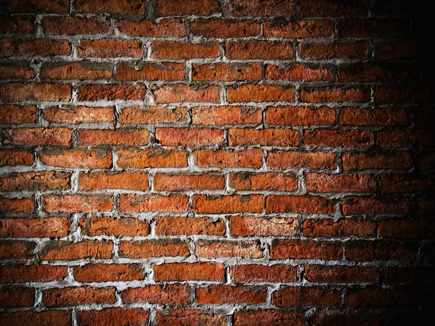 Brick wall background  with space for text
