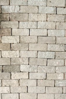 Brick wall background with vignetted corners of interior