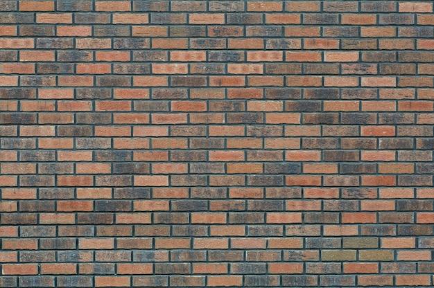 れんが壁。素朴なスタイルのクラシックなレンガのレンガ。